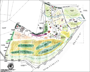 Permaculture Design Plans in Wallkil River, New Paltz, New York