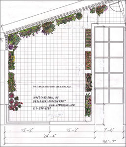 Permaculture RoofTop garden design in Woodland, New Jersey